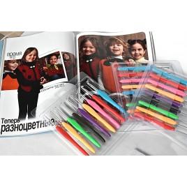 Крючки с силиконовой ручкой
