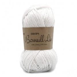 Bomull-Lin 01 белый